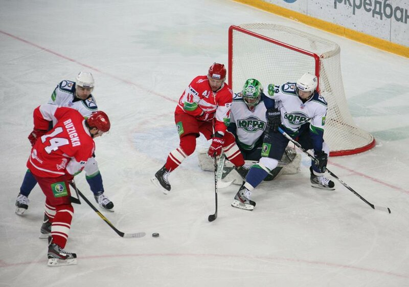«Спартак» vs «Югра» 0:1 чемпионат КХЛ 2012-2013 (Фото)