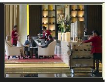 ОАЭ. Дубаи. Raffles Dubai. Raffles Salon