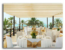 ОАЭ. Дубаи. The Westin Dubai Mina Seyahi Beach Resort & Marina. Arabian Terrace