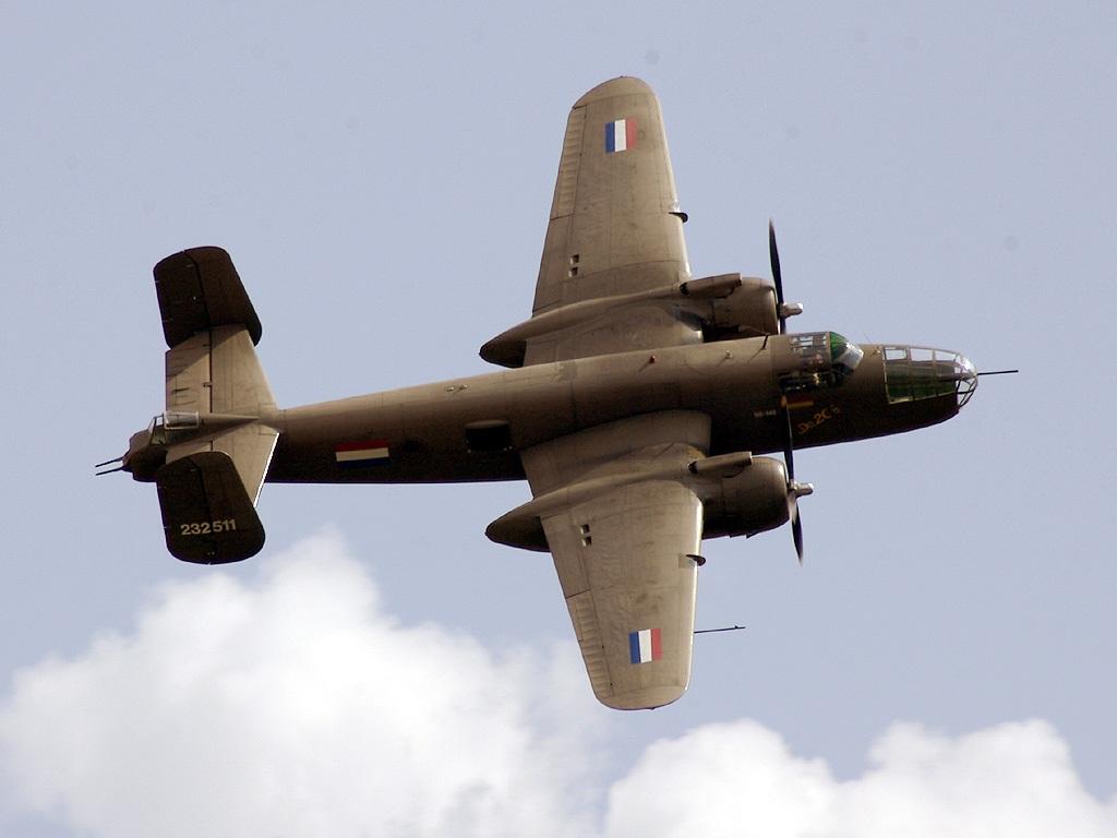 Обои средний, двухмоторный, b-25j, американский, North american. Авиация foto 17