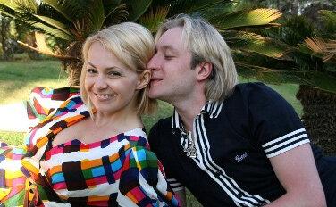 Яна Рудковская родила сына Евгению Плющенко
