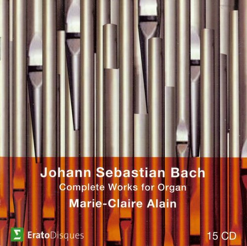 J.S. Bach - Complete Works for Organ - Marie-Claire Alain (2007) FLAC