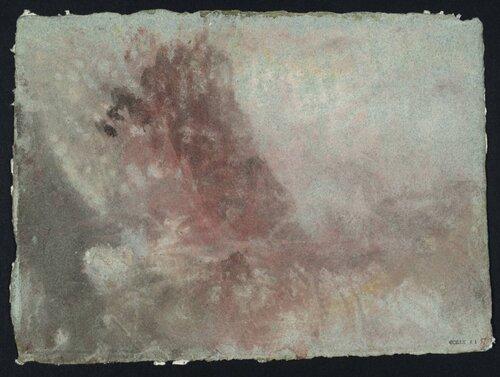 A Storm circa 1830 by Joseph Mallord William Turner 1775-1851
