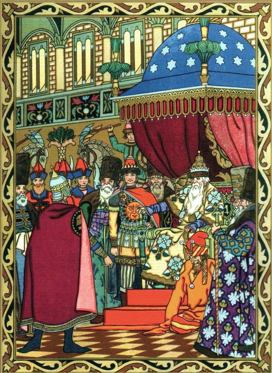 иллюстрированные картинки к сказкам