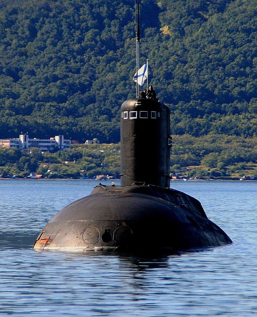 первые подводные лодки на тихоокеанском флоте