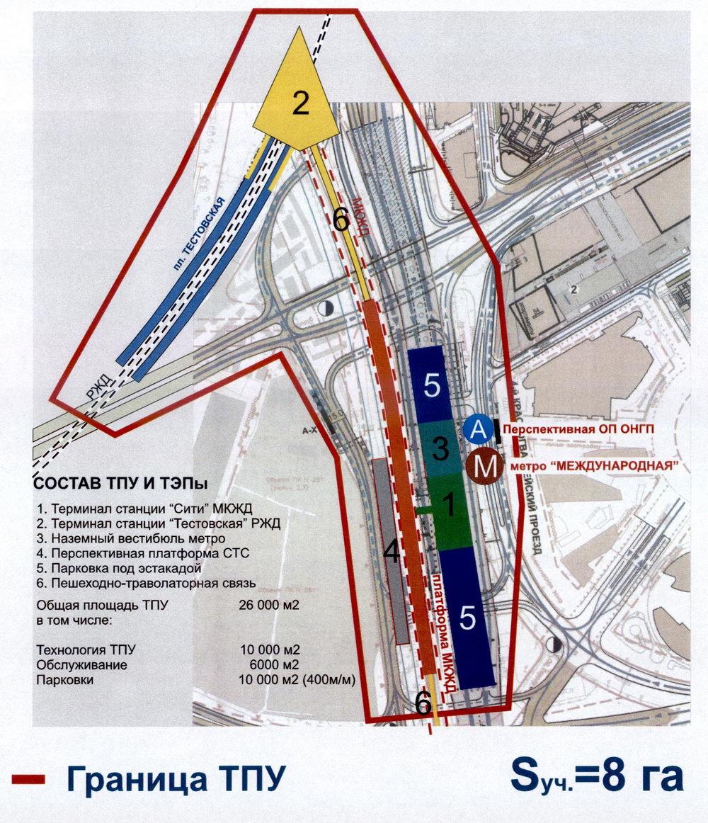Схема местности у метро