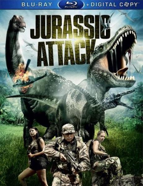 Атака Юрского периода / Jurassic Attack (2013) BDRip 720p + HDRip