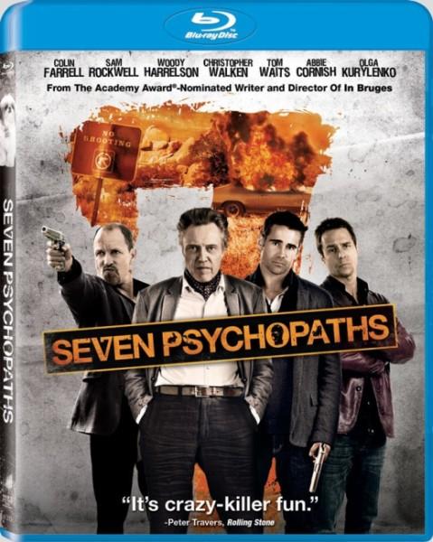 Семь психопатов / Seven Psychopaths (2012/HDRip/2100Mb/1400Mb/700Mb)