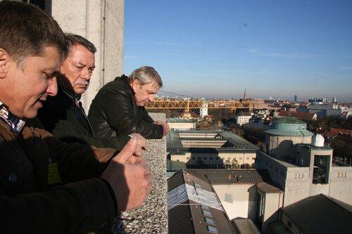 Обзорная площадка башни Немецкого музея