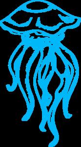 Медуза картинка на прозрачном фоне