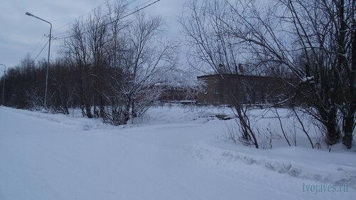 Фотография Инты №2865  Юго-восточный угол Геологической 4 31.01.2013_13:39