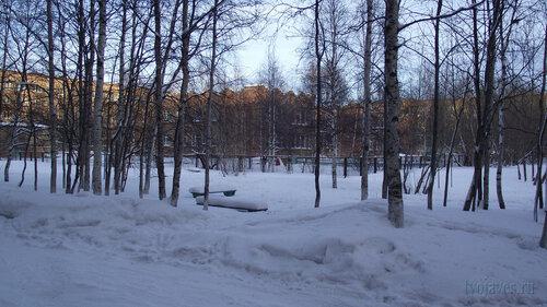 Фото города Инта №2991  Юго-западный угол Воркутинской 4 д/с