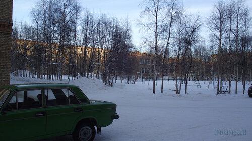 Фото города Инта №2997  Воркутинская 2, 6 и 4 (вид от северо-западного угла Куратова 40) 01.02.2013_13:06