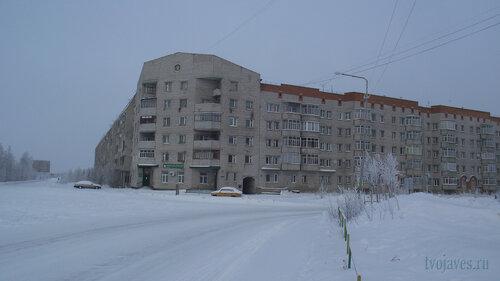 Фото города Инта №3526  Морозова 16, Мира 68 и 66 10.02.2013_12:12