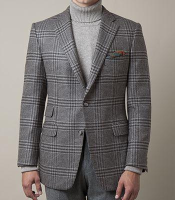 Клетчатый пиджак серые брюки.jpg
