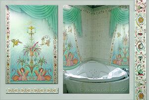 Штора для ванной-комнаты