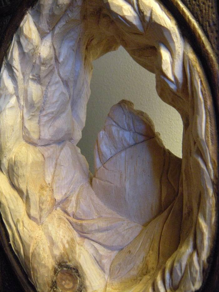 Деревянная скульптура Нино Орланди / Nino Orlandi