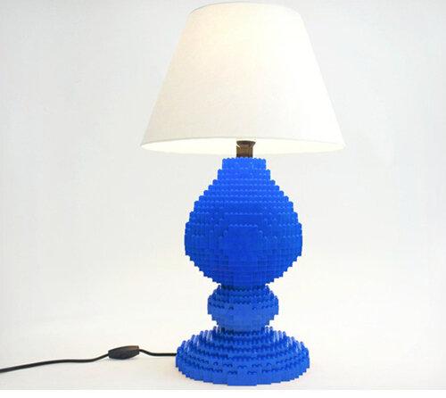 Лампы из лего 1