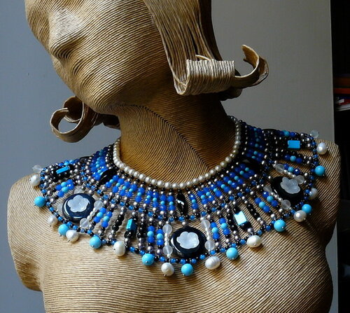 Украшения в египетском стиле
