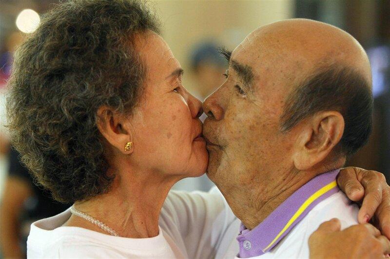 Фотографии. Самый долгий поцелуй в мире