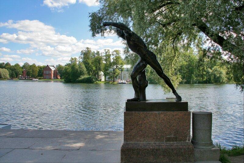 Екатерининский парк, Боргезский боец