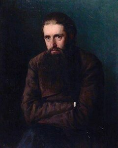 Портрет брата (Василия Александровича Ярошенко). 1883-1884. Н. А. Ярошенко