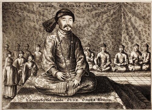 Шан Кэси, наместник Лянгуана, известный голландцам как «старый вице-король». 1665 год