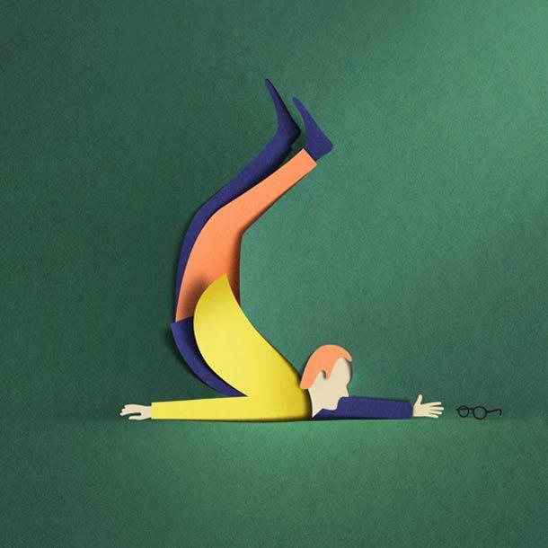 Digital Papercut – 25 nouvelles creations de Eiko Ojala