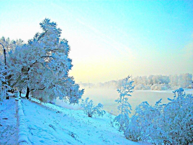 Голубая планета «Зима»