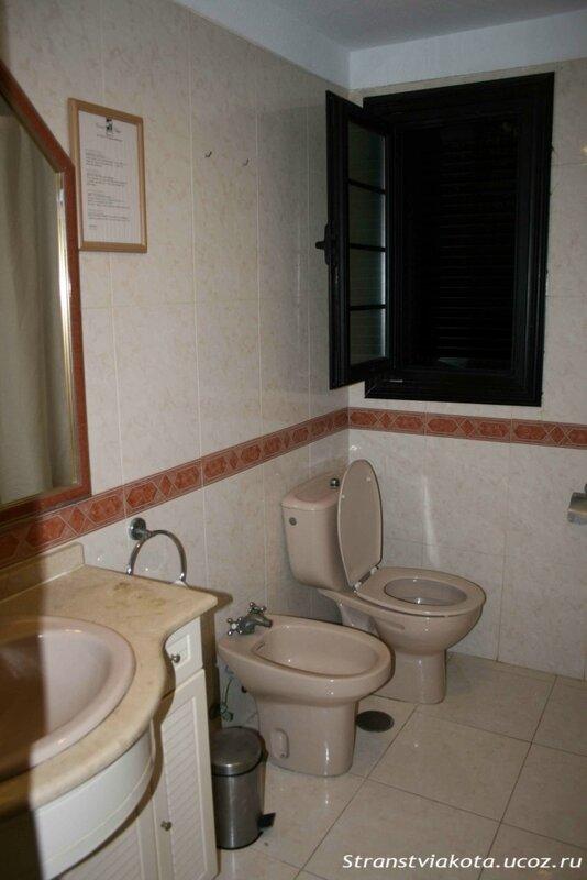 Санузел в 1-спальном апартаменте в Los Cardones