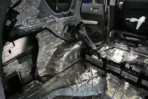 Шумоизоляция багажника Ниссан X-Trail T-31