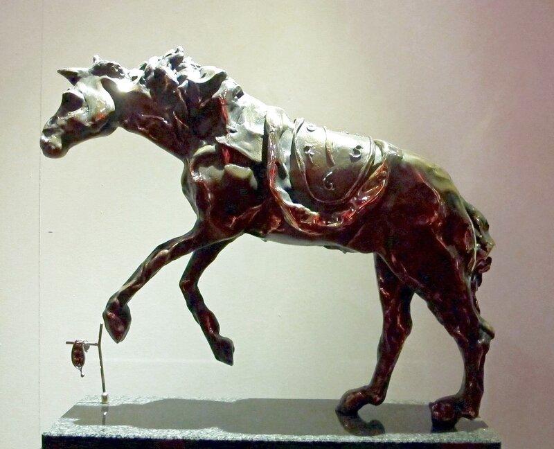 Лошадь,оседланная временем