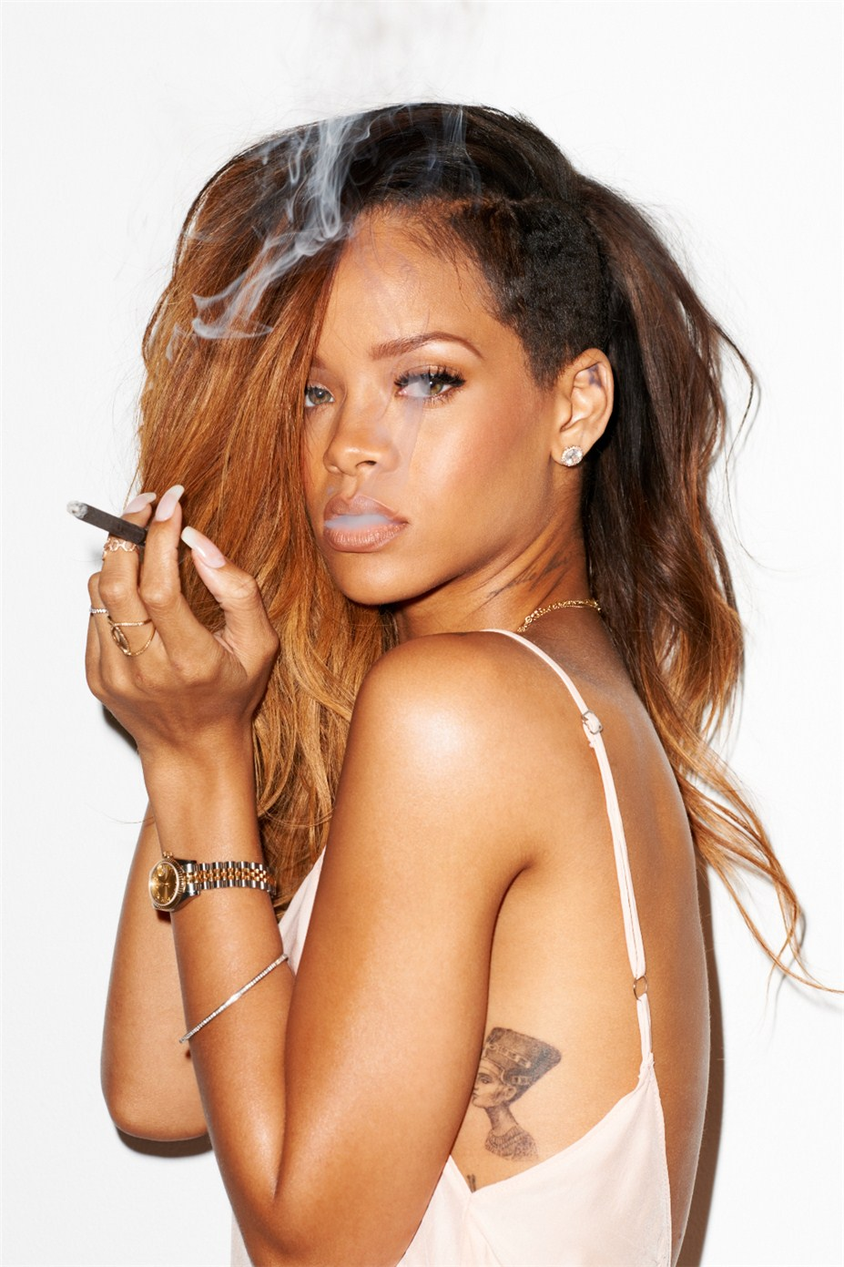 Rihanna / Рианна в дневнике фотографа Terry Richardson / фотографии для журнала Rolling Stone, февраль 2013