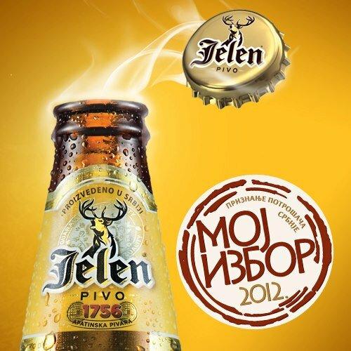 Jelen pivo. Senica.ru