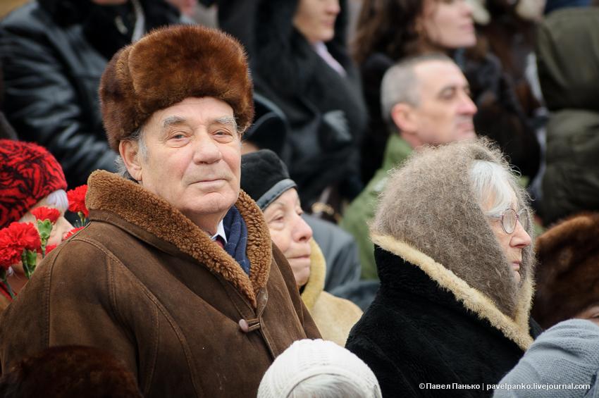 #Сталинград70 Волгоград Сталинград парад ветеран Панько