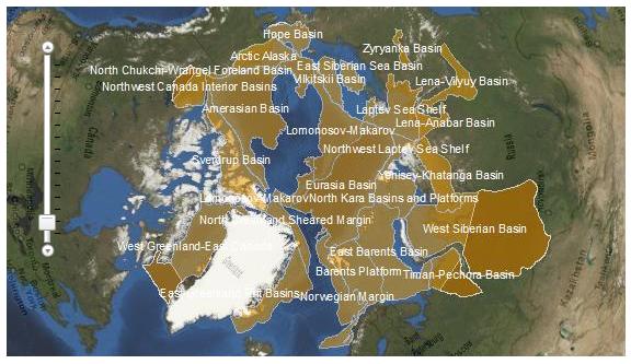 Usgs, Eia: Оценки запасов нефти и газа Арктики