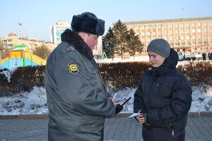 В Уссурийске сотрудники полиции проводят акцию «Безопасный Новый год»
