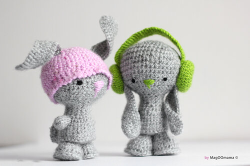 Amigurumi Headphones : 1000+ images about Amigurumi on Pinterest Mouse traps ...