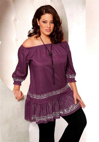 Красивая Одежда Для Полных Женщин Фото
