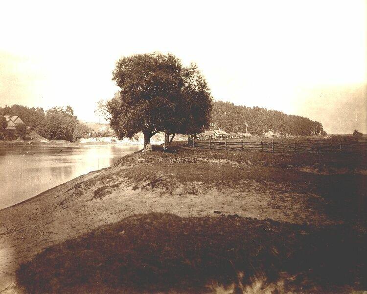 18. Прибрежный ландшафт реки Нерис