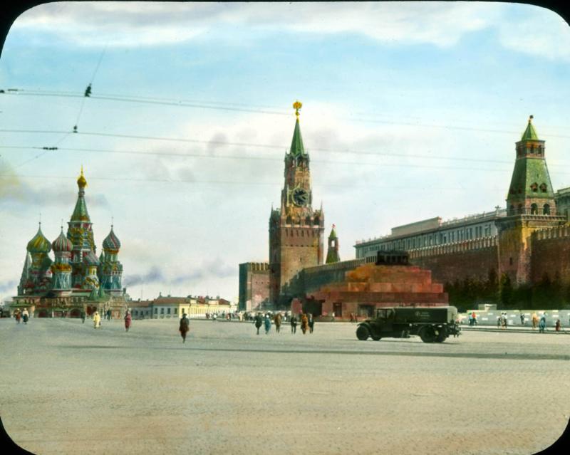 Москва. Красная площадь, собор Василия Блаженного