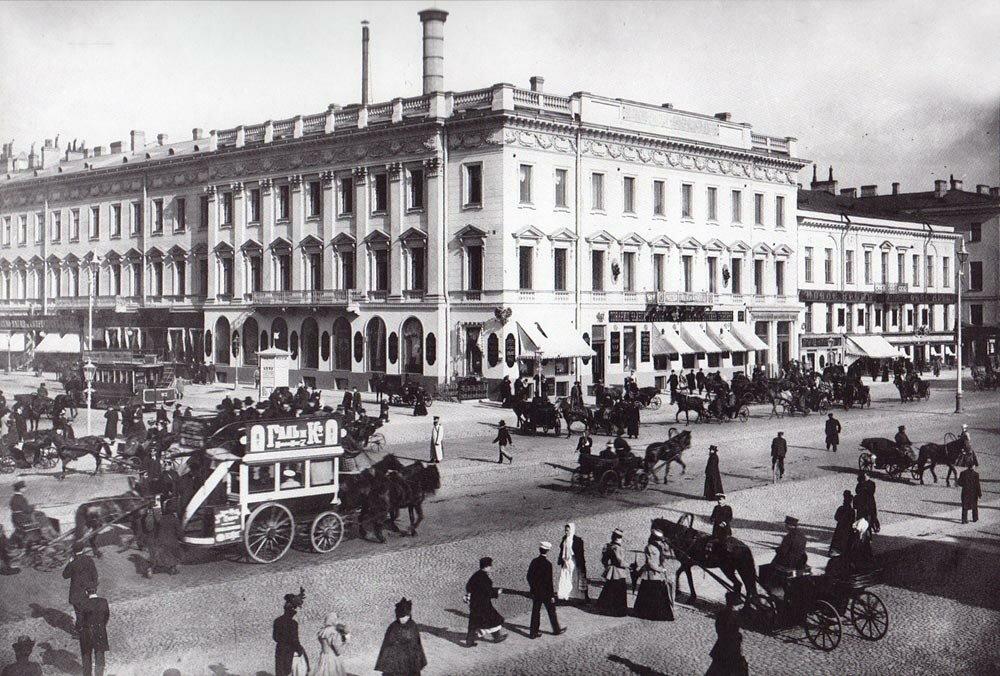 Невский проспект.Фото нач.1900-х гг.