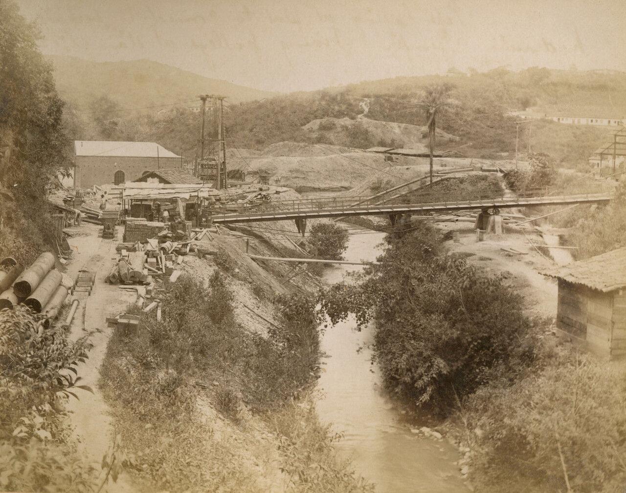 Мост в Морру-Велью, 27 декабря 1893