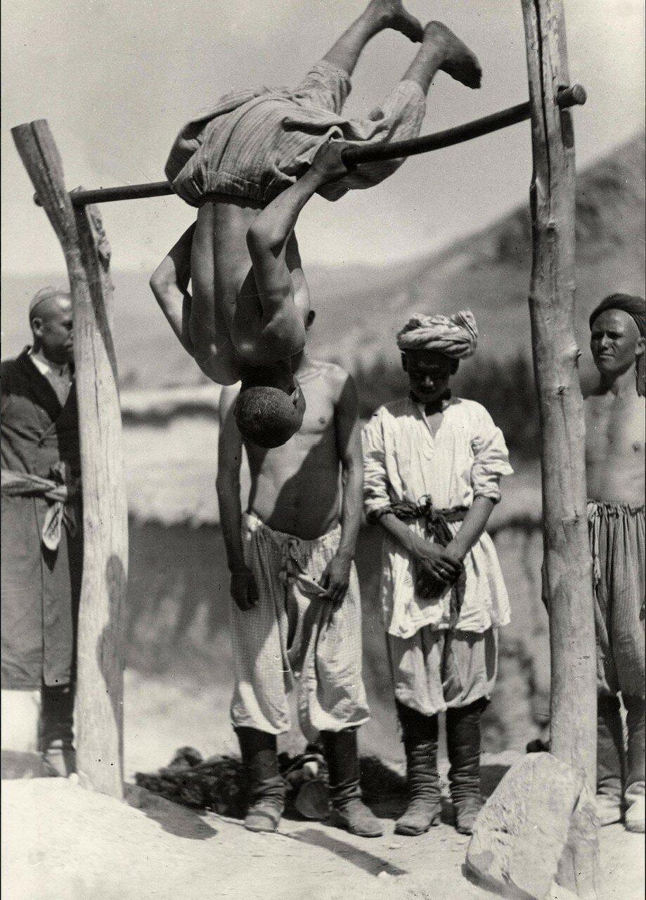1927. Узбекистан. Сельские физкультурники