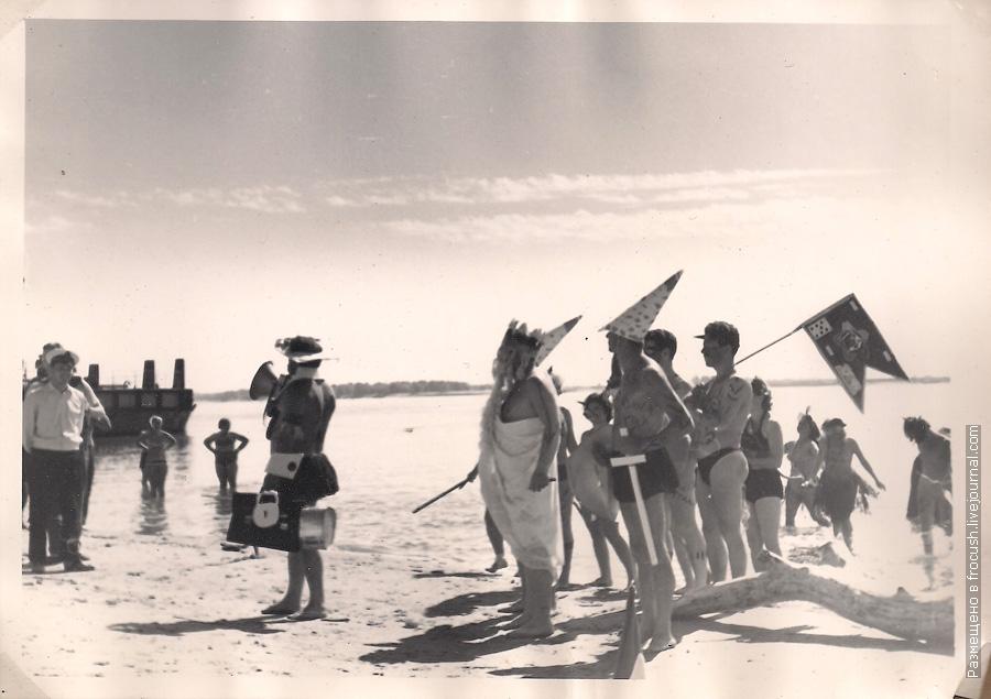 Никольское праздник Нептуна 1965 год