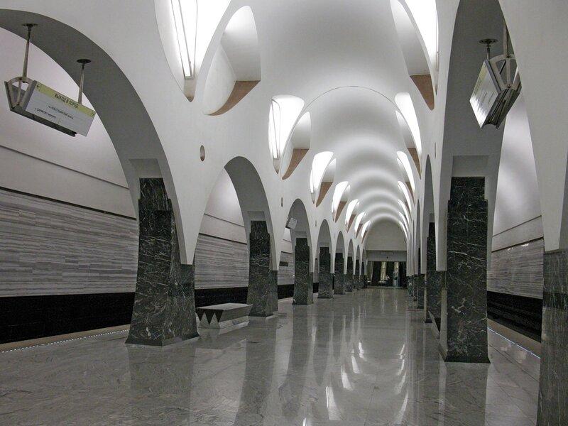 Станция м. Волоколамская.
