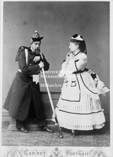 Lajos Graf Zichy und Helene Grдfin Esterhбzy