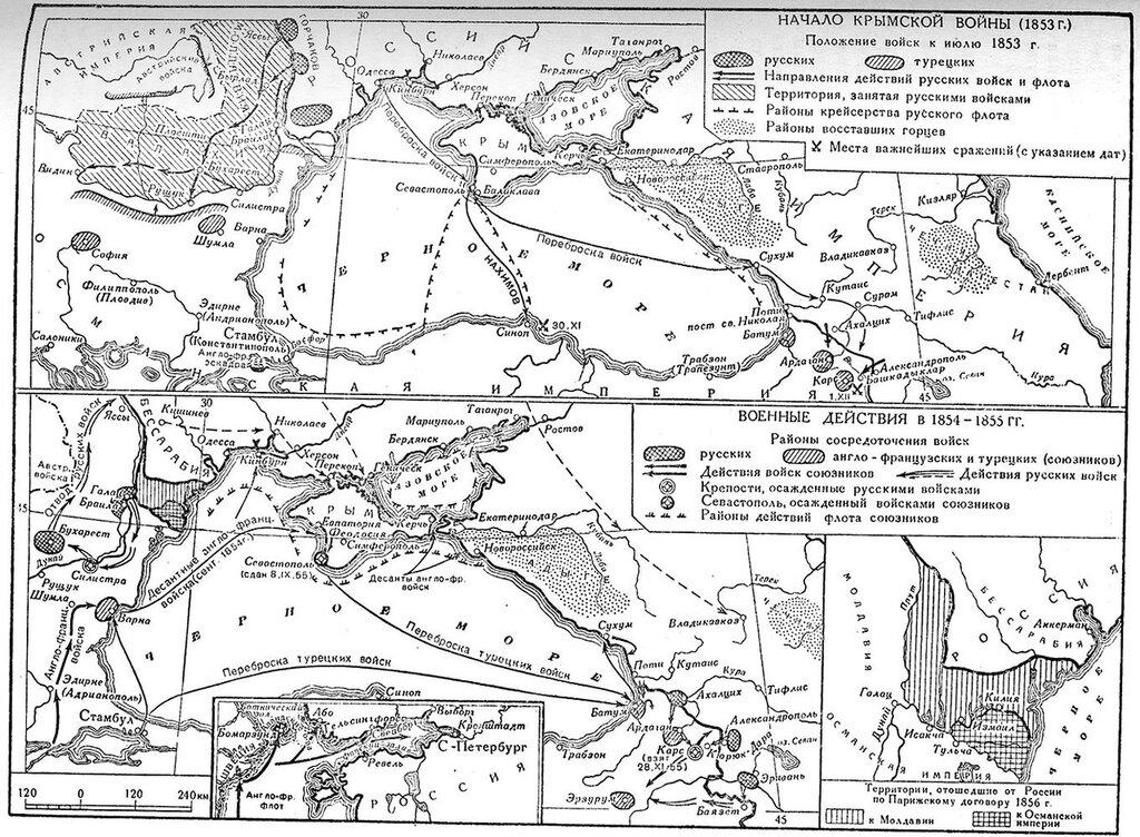 Крымская война 1853-1856 -