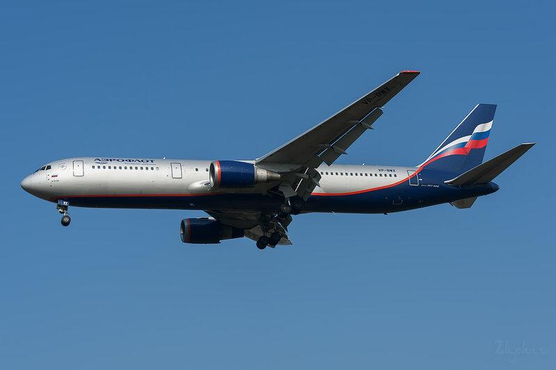 Boeing 767-306/ER (VP-BWX) Аэрофлот DSC6598