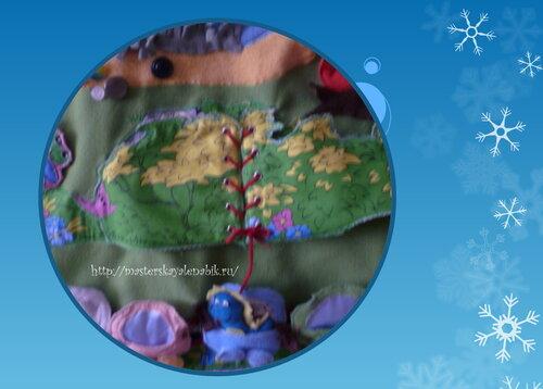 Развивающий коврик для детей. Автор: Наталья Башмакова